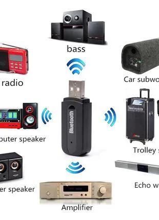 Аудио Ресивер USB Aux - Bluetooth Музыкальный Приемник Звука