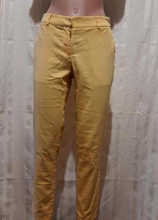 """Красивые жёлтые брюки """"дудочки"""".   м"""