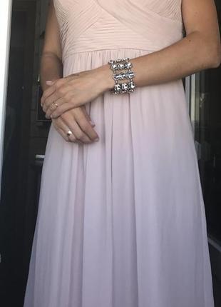 Невероятно красивое платье в пол debenhams