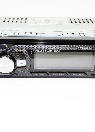 Автомагнитол Pioneer 6084 Bluetooth, MP3, FM, USB, SD, AUX