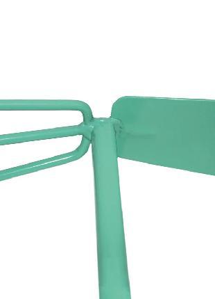 Двостороння комбинированя ручна сапа-сапа бірюзова 26х18 см, с...