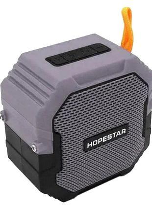 Портативная колонка Bluetooth Hopestar T7, серая