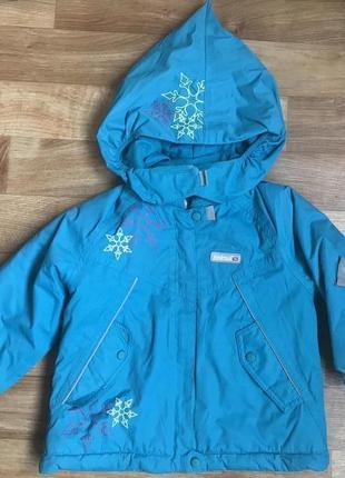 Зимняя куртка reima tec мембрана