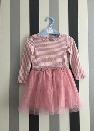 Красивейшее нарядное платье 2-3 года