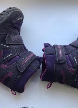 Зимние ботинки для девочки superfit 35 размер