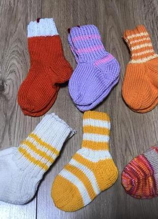 Носки вязаные, тонкая вязка, ручная работа! hand made