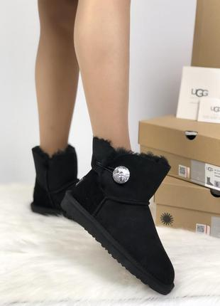 Угги натуральные ugg mini bailey button