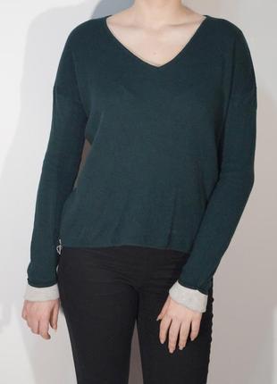 Джемпер глубокого зеленого цвета от m&s