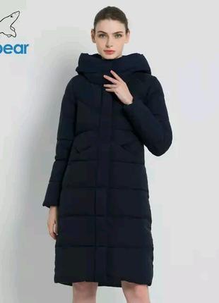Зимняя женская куртка парка пуховик пальто ICEbear