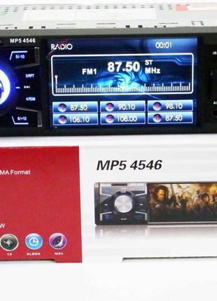 "Магнитола Pioneer PA4546 ISO - 4""  DIVX, MP3, USB, SD, блютуз"