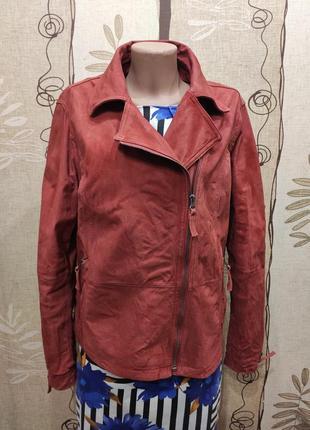 Tcm tchibo замшевая куртка косуха