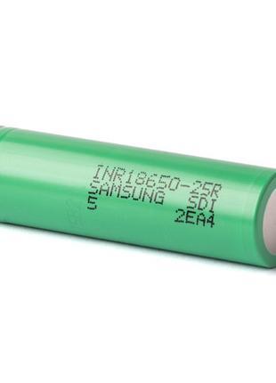 Аккумулятор Samsung INR18650-25R 35A 2500mAh