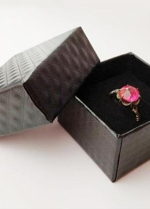 Коробочка  5*5 см. для колец, ювелирных украшений