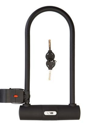 Велозамок Green Cycle U-lock GLK-468 115x230 Чорний LCK-32-64