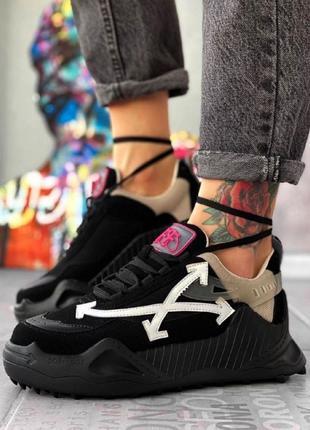 Обувь Офф Черные Шипы