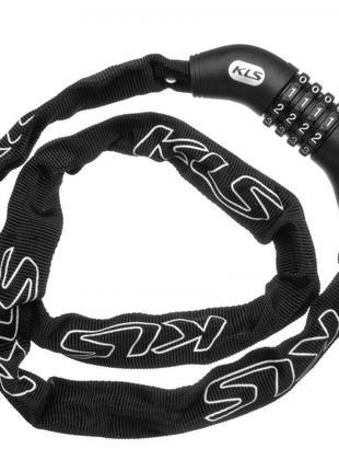 Велозамок KLS Chainlock 4 Чорний 8585019368638