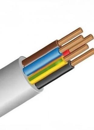 Силовой кабель провод шнур ПВС 5* 10 Днепр