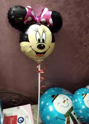 Новогодние фольгированные шарики