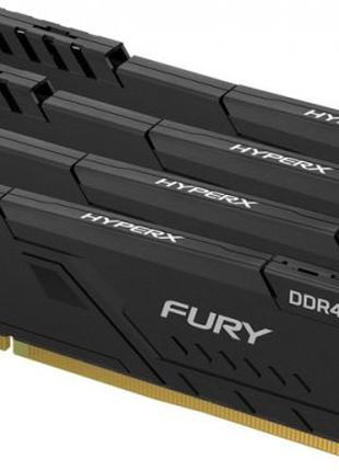 Оперативная память HyperX DDR4 4x8GB Fury Black 2666Mhz (HX426...