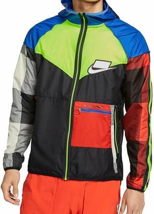 Куртка ветровка бомбер анорак nike jordan (s-m-l) оригинал!! -20%