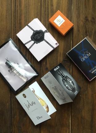 Набор топовых парфюмов dior yves saint laurent оригинал