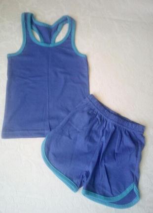Комплект: борцовка и шорты