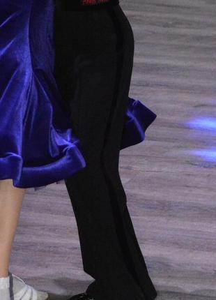 Брюки для бальных танцев на стройного мальчика
