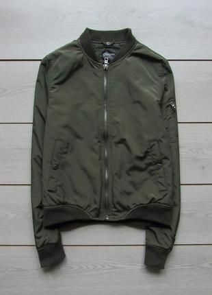 Бомбер куртка хаки от chicoree