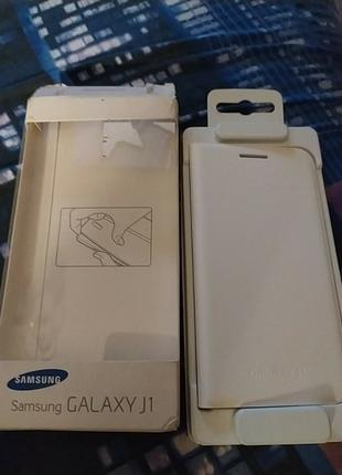 Чехол для смартфона Samsung J1 EF-FJ100BWEGRU