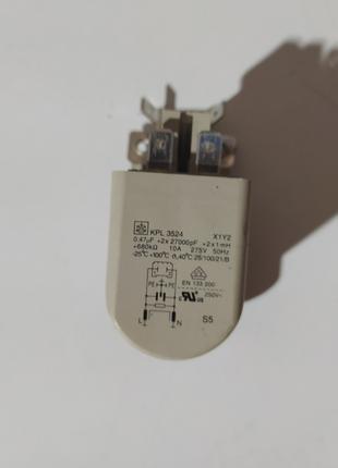 Сетевой фильтр для стиральной машины KPL3524 X1Y2