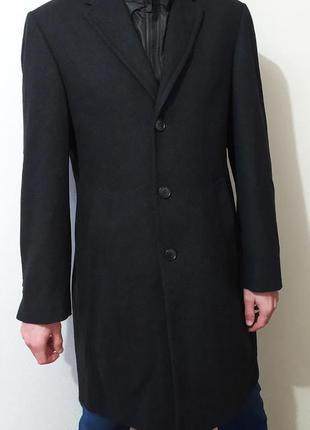 Мужское шерстяное пальто  осеннее пальто демисезонное  j. philipp
