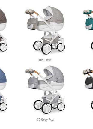 Детские универсальные коляски 2 в 1 Riko (Производство Польша)