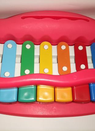 Ксилофон пианино детский музыкальный инструмент