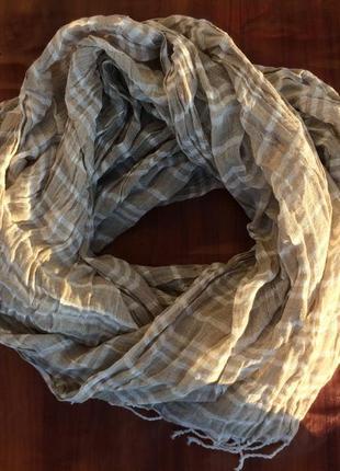 Обалденный хлопковый шарф палантин
