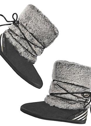 Adidas neo selena gomez ботинки зимние с мехом сапоги замшевые...
