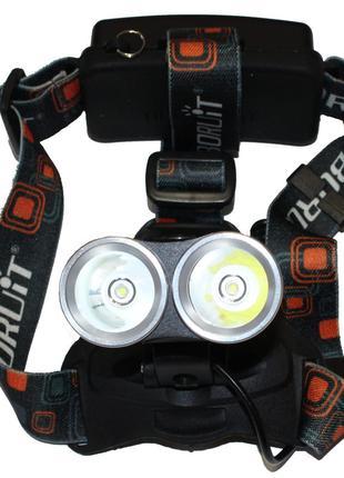 Налобный фонарь Bailong Police BL-T25-2X T6
