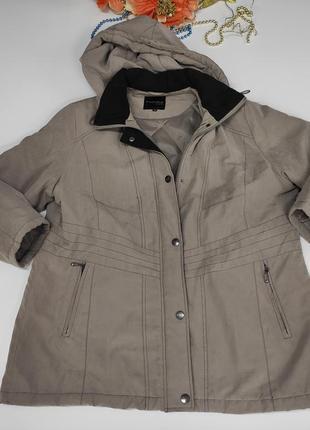 Женская утепленная куртка весна - осень размер 46