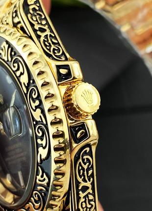 Наручные часы Rolex Submariner Gold-Black