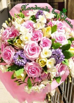 ==>  Эксклюзивный Подарок Реалистичные Цветы ручной работы - Б...