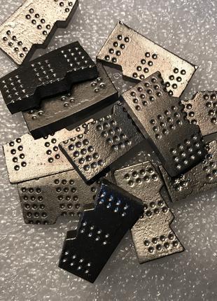 Алмазные сегменты с напайкой (для сверления бетона).