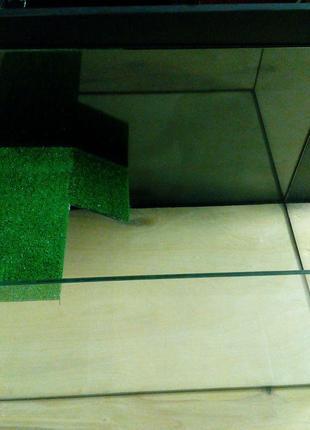 Новый террариум для черепахи 40см -25см -25см