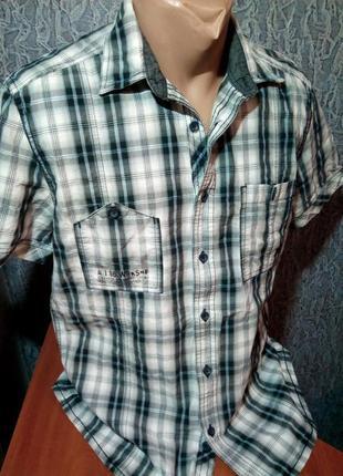 Брендовая рубашка. angelo litrico.