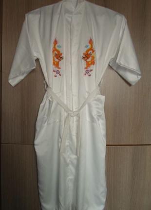 Халат-кимоно большой размер XXL