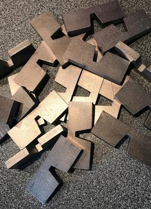 Алмазные сегменты для дисков по железобетону Ø 800 мм
