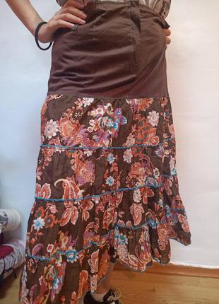 (размер 48 РУС) Красивая длинная юбка в пол р 42 евро (Ликвида...