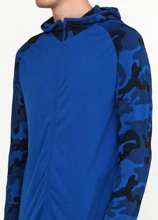 Крутая функциональная спортивная мужская кофта с капюшоном cri...