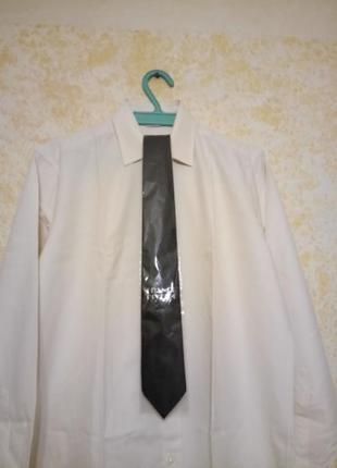 Черный галстук franco riveiro