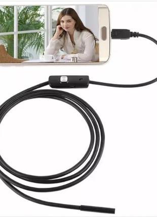 Камера Эндоскоп Android and PC Endoscope, гибкая USB-камера (1...