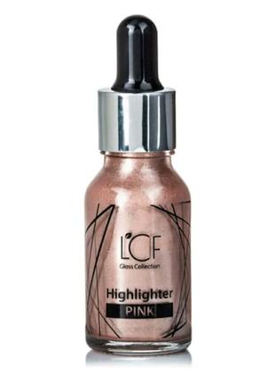Хайлайтер жидкий для лица lcf pink
