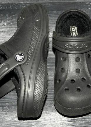 Crocs ! оригинальные, удобные босоножки-сандалии на меху